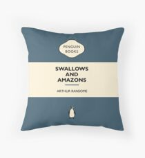 Swallows and Amazons Throw Pillow