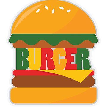 Burger by MrD-Shirts