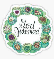 God Julemad | Good Christmas Food Sticker