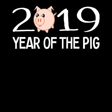 2019 Year of the Pig by FairOaksDesigns