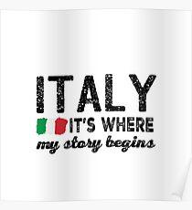ITALY MY STORY Poster