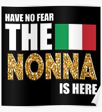 THE NONNA IS HERE Poster
