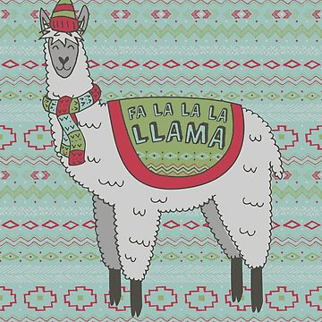 Fa La La La Llama by robyriker
