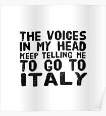 GO TO ITALY Poster