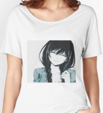 Sad girl Women's Relaxed Fit T-Shirt