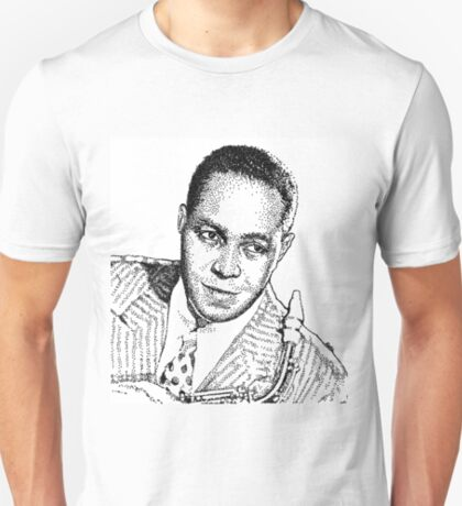 Ink drawing of Jazz icon Charlie Parker T-Shirt