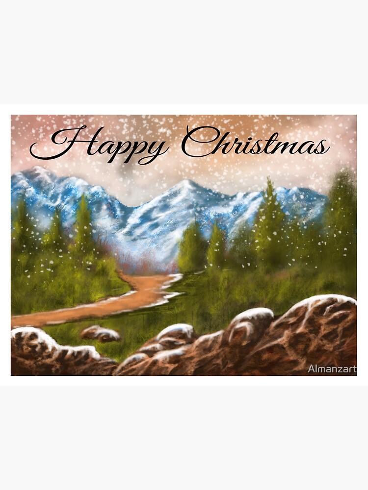 Weihnachtskarten von Almanzart