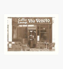 Via Veneto Art Print
