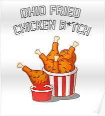 Ohio Fried Chicken Poster