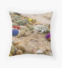 Rainbow Scatters Throw Pillow