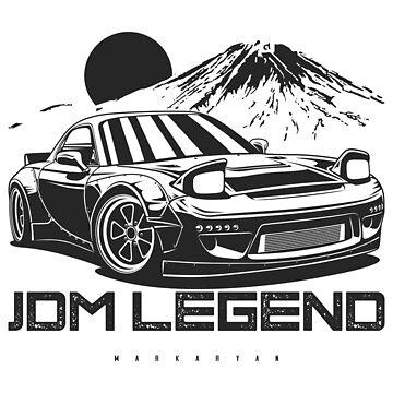 JDM Legend RX7 by OlegMarkaryan