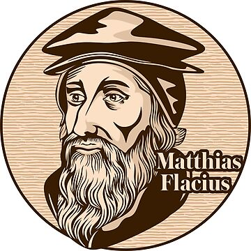 Matthias Flacius (1520 – 1575) was a Lutheran reformer from Istria. Christian figure. by biblebox