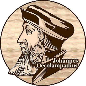 Johannes Oecolampadius (1482 – 1531) was a German Protestant reformer in the Reformed tradition from the Electoral Palatinate. by biblebox