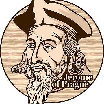 Jerome of Prague (1379 – 1416) was a Czech scholastic philosopher, theologian, reformer, and professor. Jerome was one of the chief followers of Jan Hus. Christian figure. by biblebox