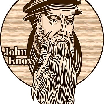 John Knox (1513 – 1572) was a Scottish minister, theologian, and writer who was a leader of the country's Reformation. He is the founder of the Presbyterian Church of Scotland. Christian figure. by biblebox