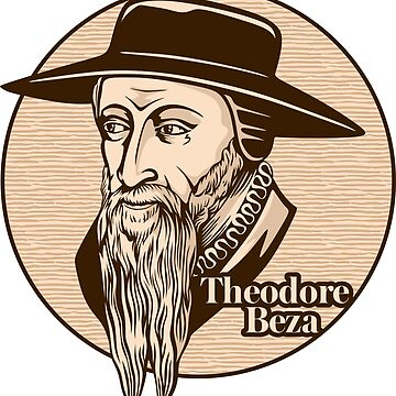 Theodore Beza (1519 – 1605) was a French Reformed Protestant theologian, reformer and scholar who played an important role in the Reformation. Christian figure. by biblebox