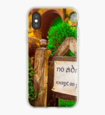 No Admittance iPhone Case