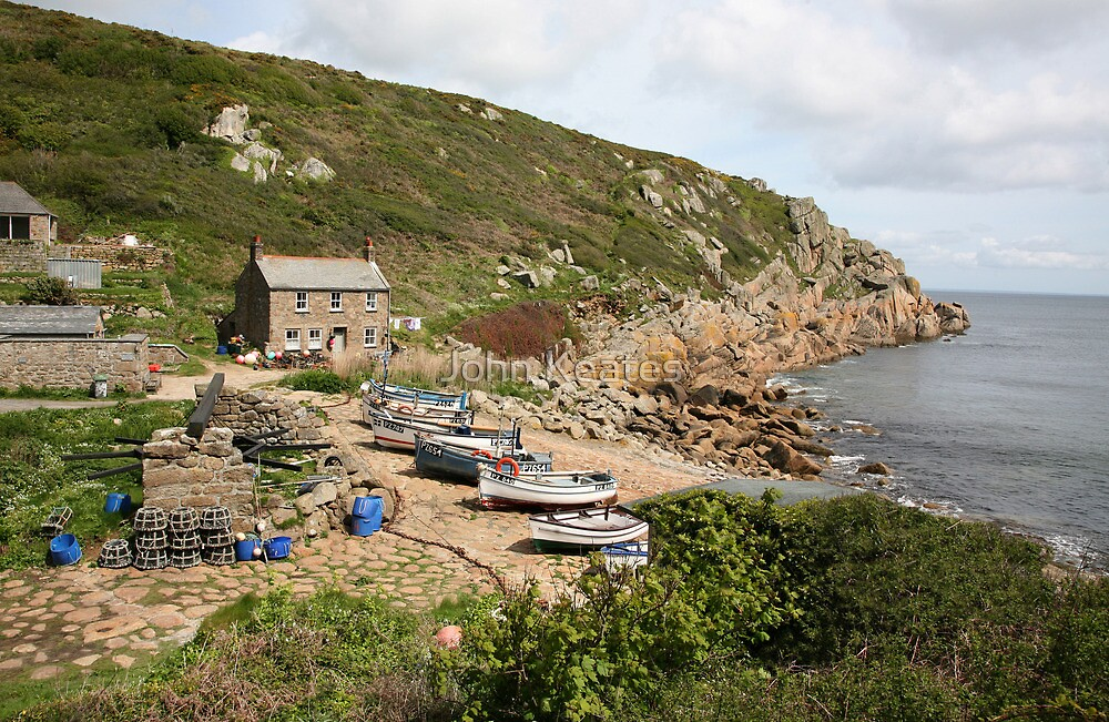 Penberth Cove by John Keates