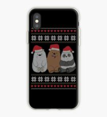 Christmas bears iPhone Case