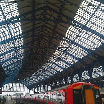Brighton Train Station by TalBright