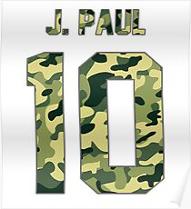 Jake Paul (Team 10) - Camo Poster