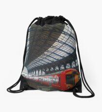 Brighton Train Station Drawstring Bag