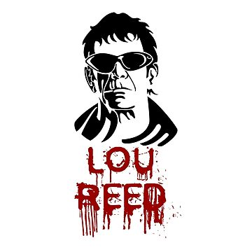 Lou Reed by Loredan