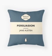 Persuasion  Throw Pillow