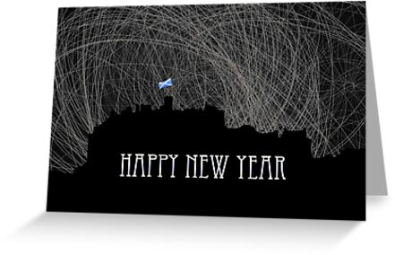 Happy New Year from Edinburgh by simpsonvisuals
