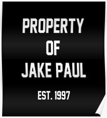 Property of Jake Paul Poster