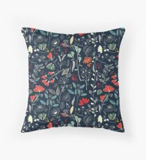 Forest Treasures Throw Pillow