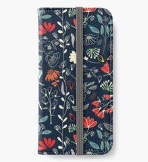 Waldschätze iPhone Flip-Case/Hülle/Skin