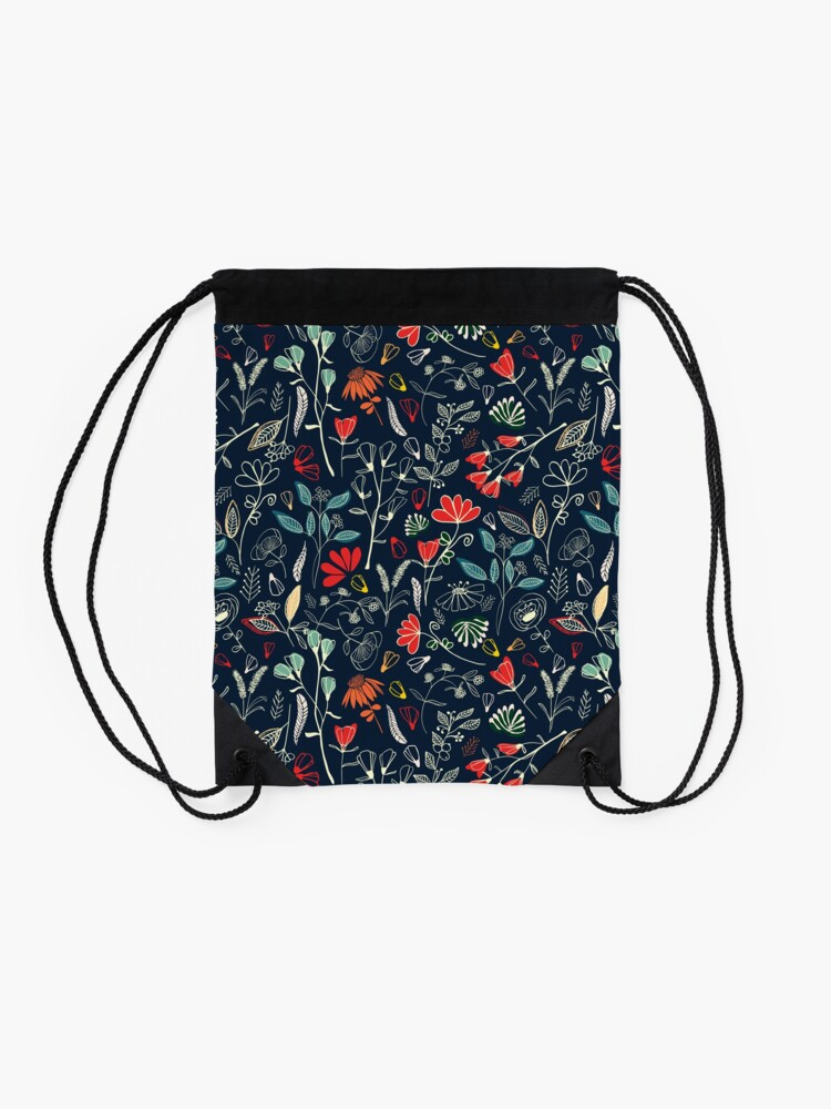 Alternate view of Forest Treasures Drawstring Bag