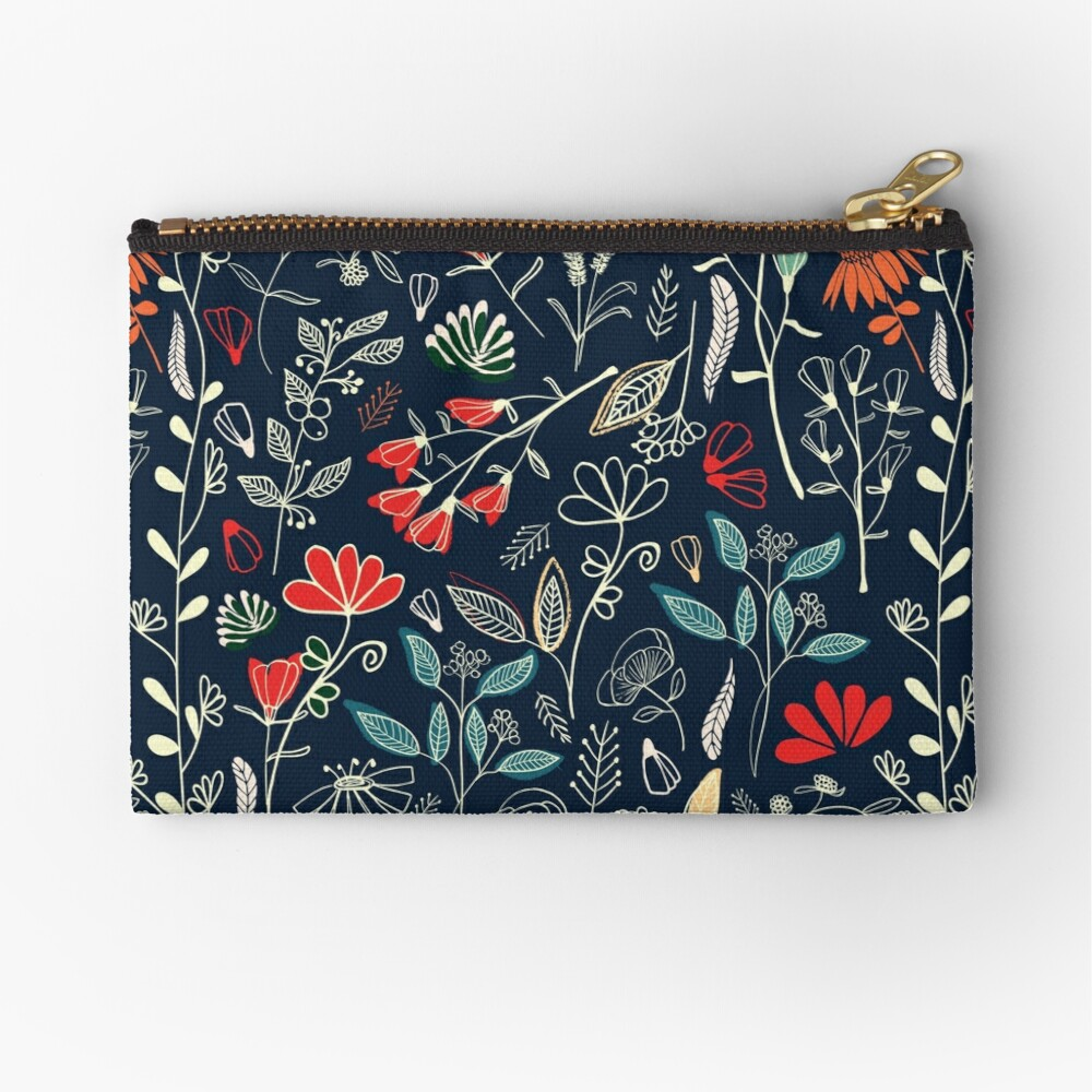 Forest Treasures Zipper Pouch