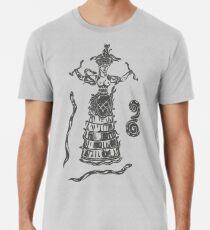 Göttin der Schlangen mit Katze.  Premium T-Shirt