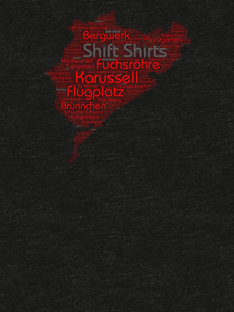 Ring Corners - Nurburgring Inspired by ShiftShirts