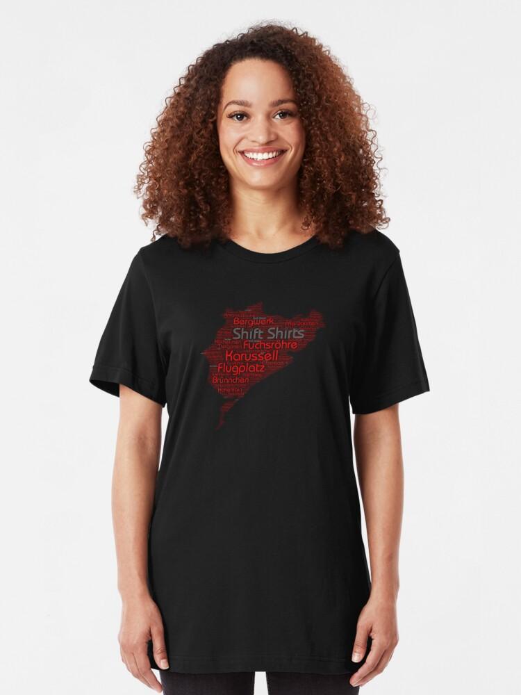 Alternate view of Ring Corners - Nurburgring Inspired Slim Fit T-Shirt