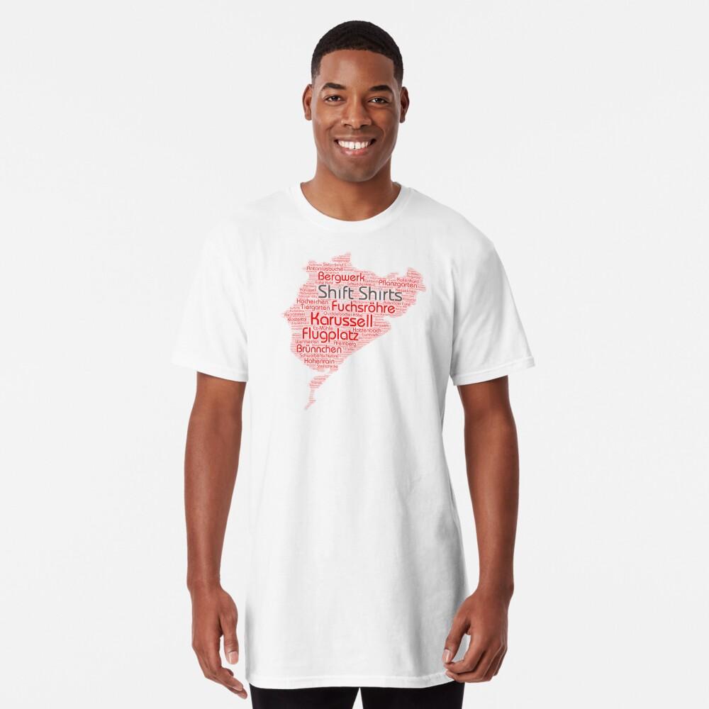 Ring Corners - Nurburgring Inspired Long T-Shirt