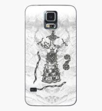 Göttin der Schlangen mit Katze.  Hülle & Klebefolie für Samsung Galaxy