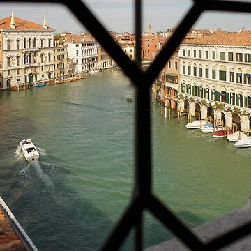 Grand Canal View From My Venetian Palace Window by GeorgiaM