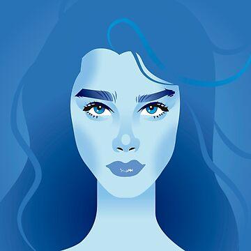 Blue lagoon by AleMogolloArt
