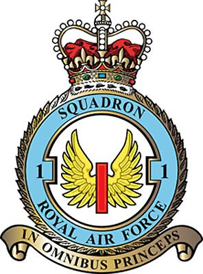 1 Squadron RAF badge by Woodie