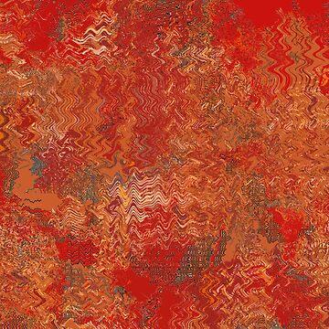 Red waves by dominiquelandau