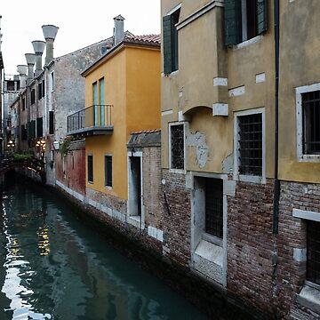 Venice, Italy - Charming Bridges and Fabulous Distinctive Chimneys by GeorgiaM