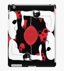 Red Balloon Twins iPad Case/Skin