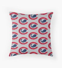 Chicago Whales Throw Pillow