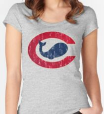 Chicago Whales Women's Fitted Scoop T-Shirt