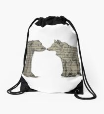 The Call of the Wild Drawstring Bag