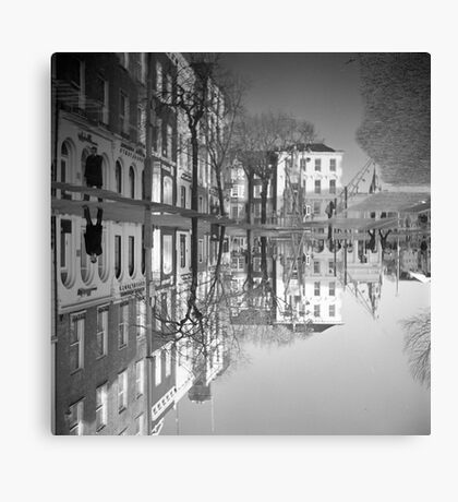 Flooding Wrecks Your Head Canvas Print