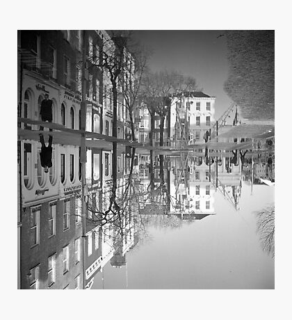 Flooding Wrecks Your Head Photographic Print